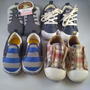 Infants Baby Shoes, Sz 0-3 Months